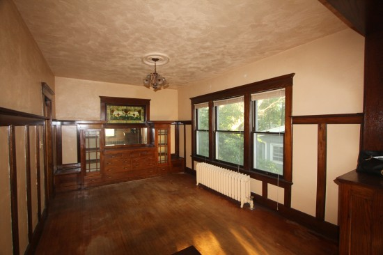 The Harriet House Dining Room Before
