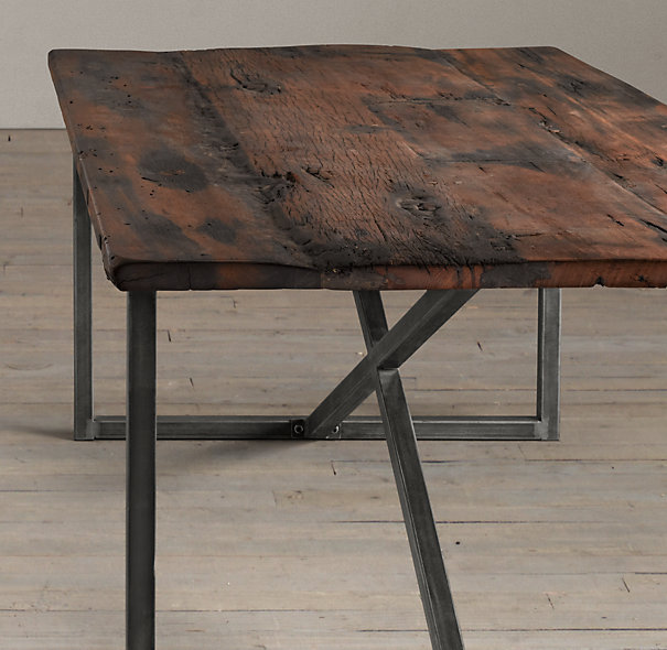 Restoration Hardware Kitchen Tables: The Dining Room Table Tale