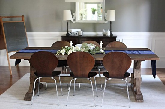 Reclaimed-Table-Modern-Chairs