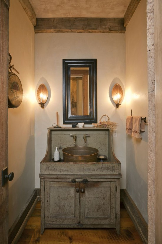 antique-green-dry-sink