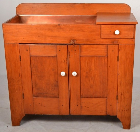 dry-sink-copper-basin