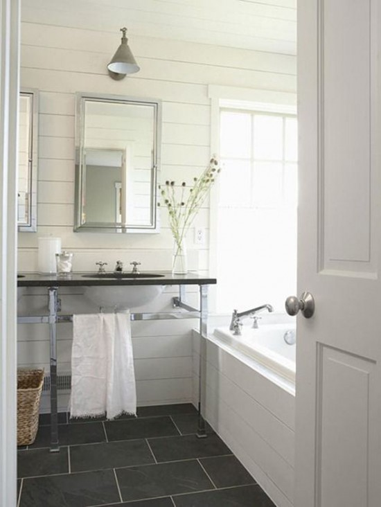 white-plank-walls-bathroom-gray-tile