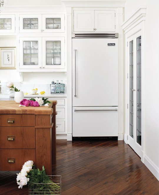 White Kitchen Stainless Appliances the white appliance trend: is stainless steel going out of style?